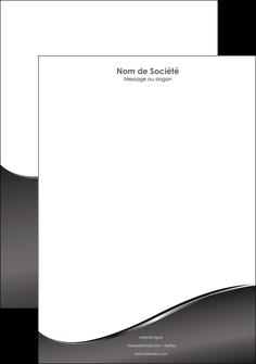 modele tete de lettre web design gris fond gris noir MLIG59437