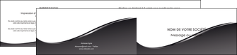 maquette en ligne a personnaliser depliant 2 volets  4 pages  web design gris fond gris noir MLGI59441