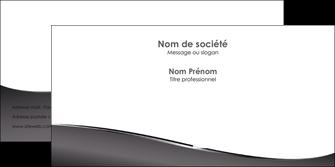 creation graphique en ligne enveloppe web design gris fond gris noir MLIG59443