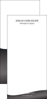 exemple flyers web design gris fond gris noir MIF59455