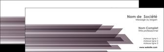 imprimer carte de visite web design gris fond gris simple MIF59465