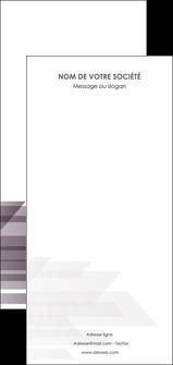 maquette en ligne a personnaliser flyers web design gris fond gris simple MIF59507