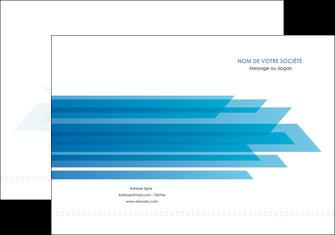 creation graphique en ligne pochette a rabat bleu couleurs froides trait MLGI59591