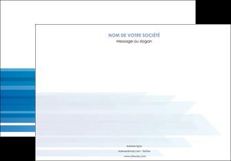personnaliser modele de affiche bleu couleurs froides trait MLIG59601