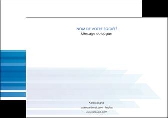 personnaliser maquette affiche bleu couleurs froides trait MLGI59603