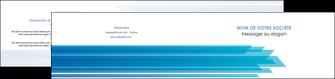 creation graphique en ligne depliant 2 volets  4 pages  bleu couleurs froides trait MLIG59615