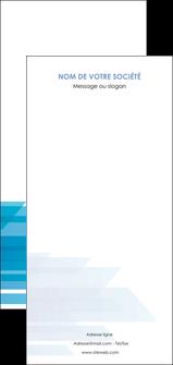 faire flyers bleu couleurs froides trait MLGI59629
