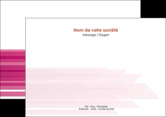 modele en ligne flyers rose fond rose trait MLGI59663