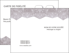 Creer Modele En Ligne Carte De Visite Graphisme Gris Simple Sobre MLGI59991