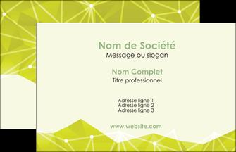creation graphique en ligne carte de visite graphisme vert fond vert colore MIF60033