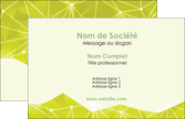 creation graphique en ligne carte de visite graphisme vert fond vert colore MLIP60033