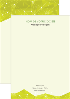 modele en ligne flyers graphisme vert fond vert colore MIF60037