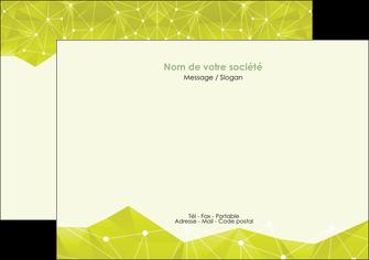 impression flyers graphisme vert fond vert colore MIF60057