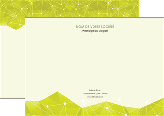 exemple flyers graphisme vert fond vert colore MLIGBE60067