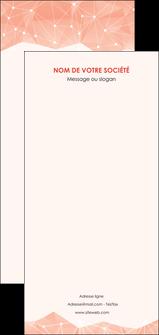 modele en ligne flyers saumon fond saumon pastel tendre MLGI60509