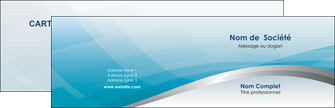 personnaliser modele de carte de visite bleu bleu pastel fond au bleu pastel MLGI60519