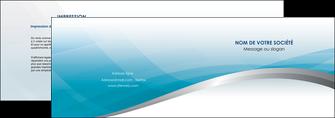 creation graphique en ligne depliant 2 volets  4 pages  bleu bleu pastel fond au bleu pastel MLGI60527