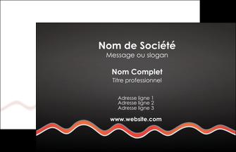 exemple carte de visite web design gris gris fonce mat MIF60883