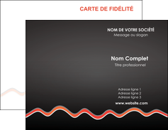 creation graphique en ligne carte de visite web design gris gris fonce mat MIF60893