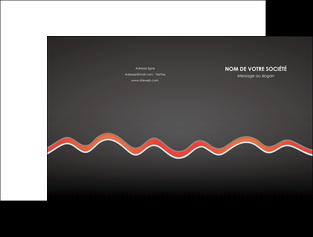 imprimer pochette a rabat web design gris gris fonce mat MIF60897