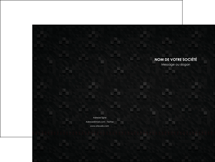 creer modele en ligne pochette a rabat gris fond gris fonce MLIG61417