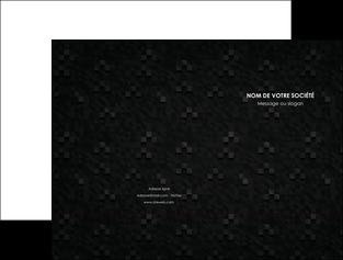 creer modele en ligne pochette a rabat gris fond gris fonce MIF61417