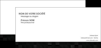 faire carte de correspondance gris fond gris fonce MIF61441
