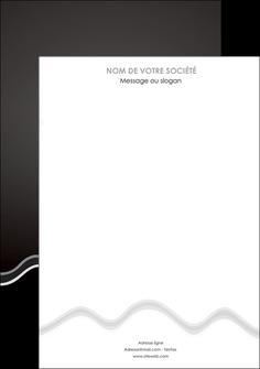 imprimerie affiche gris fond gris courbes MLIG61463