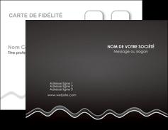 faire modele a imprimer carte de visite gris fond gris courbes MLIG61465
