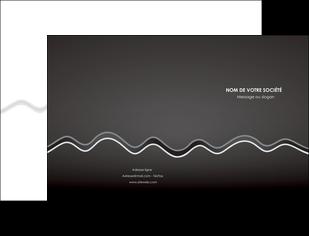 cree pochette a rabat gris fond gris courbes MLIG61467