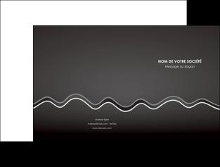 imprimerie pochette a rabat gris fond gris courbes MLIG61469