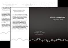 faire modele a imprimer depliant 3 volets  6 pages  gris fond gris courbes MLIG61481