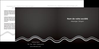 modele depliant 2 volets  4 pages  gris fond gris courbes MLIG61485