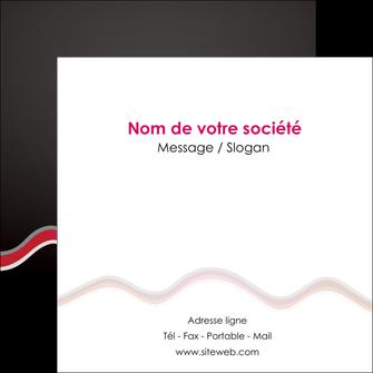 Impression flyers a5  flyers-a5 Flyers Carré 12 x 12 cm