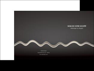 personnaliser maquette pochette a rabat gris fond gris arriere plan MIF61845