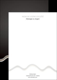 personnaliser modele de affiche gris fond gris arriere plan MIF61873