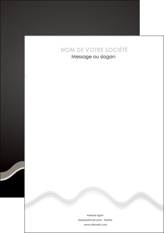 creer modele en ligne flyers gris fond gris arriere plan MIF61877