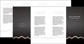 creation graphique en ligne depliant 4 volets  8 pages  gris fond gris arriere plan MIF61879