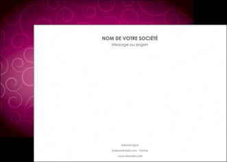 faire modele a imprimer affiche fushia rose courbes MIF61903