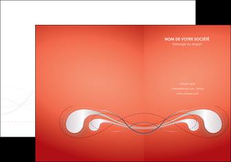 faire pochette a rabat rouge couleur rouge orange MIF62011