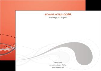 maquette en ligne a personnaliser affiche rouge couleur rouge orange MIF62017