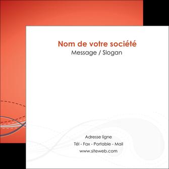 modele en ligne flyers rouge couleur rouge orange MIF62031