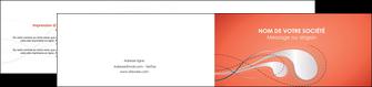 exemple depliant 2 volets  4 pages  rouge couleur rouge orange MIF62033