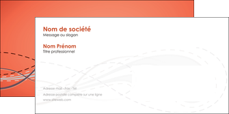 exemple enveloppe rouge couleur rouge orange MIF62035