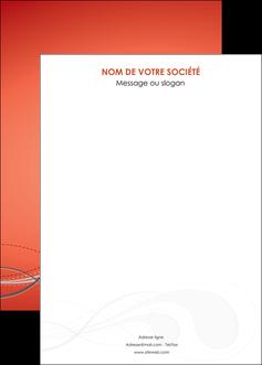 imprimer affiche rouge couleur rouge orange MIF62041