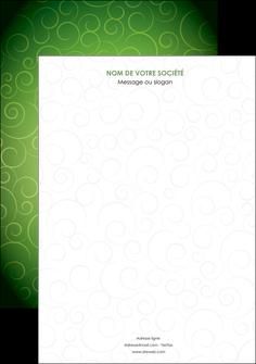 personnaliser modele de affiche vert vignette fonce MIF62163