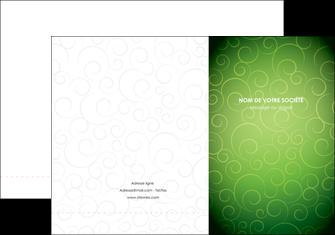 faire pochette a rabat vert vignette fonce MIF62173