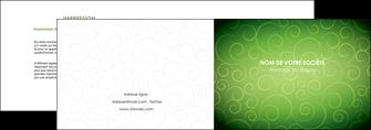 creation graphique en ligne depliant 2 volets  4 pages  vert vignette fonce MLIG62175