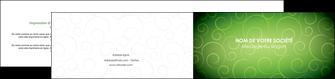 realiser depliant 2 volets  4 pages  vert vignette fonce MLIG62195