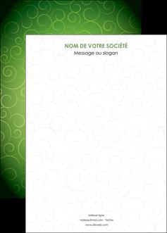 impression affiche vert vignette fonce MLGI62203